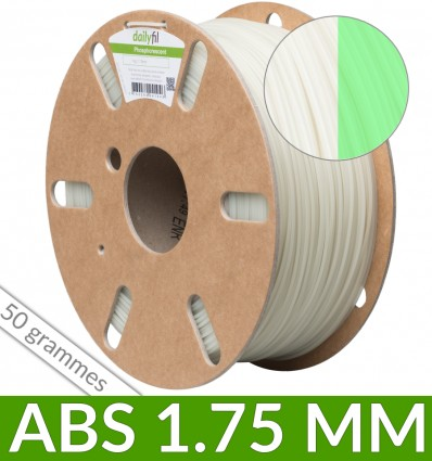 ABS 1.75mm dailyfil Phosphorescent - 50g