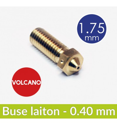 Buse laiton Volcano 0.4 mm - 1.75 mm E3D
