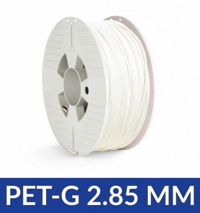 Bobine PET G 2.85 mm Blanc - Verbatim 1KG