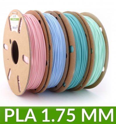 Pack Pastel dailyfil 4 bobines 500g - 1.75 mm