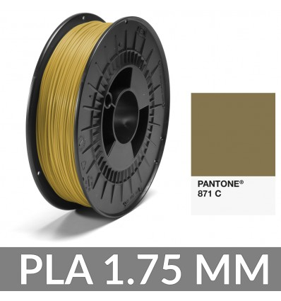 PLA Pantone® Or 871 C FiberForce - 750g