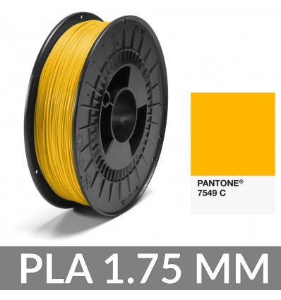 FiberForce PLA Pantone® Jaune 7549 C - 1.75 mm 750g