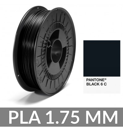 PLA Pantone® Noir 6C 1.75 mm - 750g FiberForce