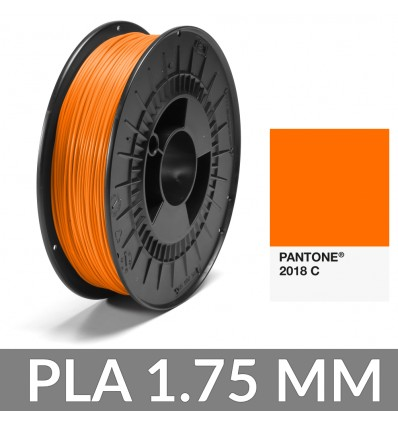 PLA 1.75 mm Pantone® Orange 2018 C - 750g