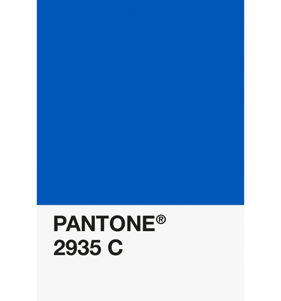 Pantone Pla 175 Mm Fiberforce Bleu 2935 C 750g