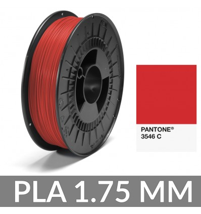 PLA Pantone® 1.75 mm Rouge 3546 C FiberForce 750g