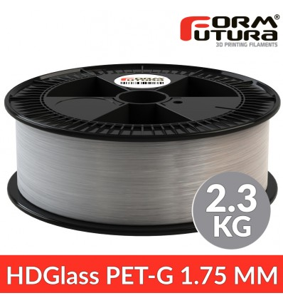 PETG - HDGlass Transparent - 2.3 kg 1.75 mm FormFutura