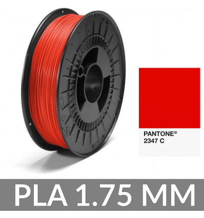 PLA Pantone® 1.75 mm Rouge 2347 C 750g FiberForce