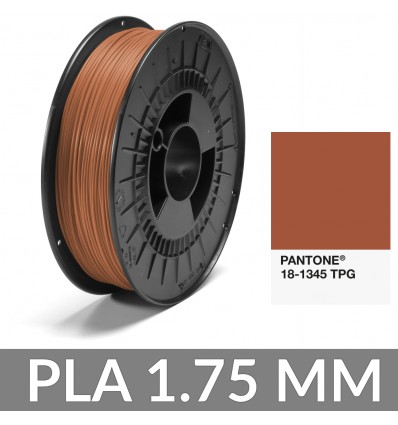 Pantone® 18-1345 TPG Brique PLA FiberForce 1.75 mm - 750g