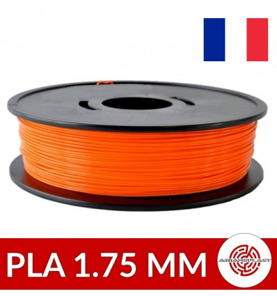 Bobine fil PLA Arianeplast Orange 1.75 mm 1kg