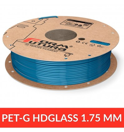 PET / HDGlass - FormFutura Blinded Pearl Blue 1.75 mm