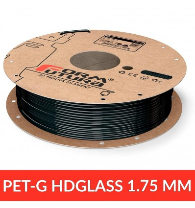 "PET / HDGlass 1.75 mm ""blinded black"" FormFutura"