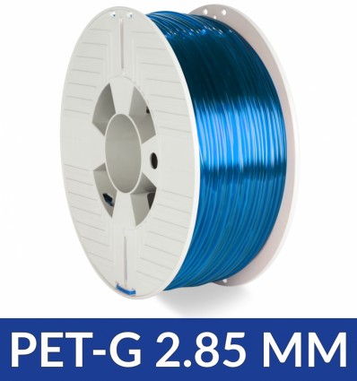 Filament PET-G Bleu Translucide 2.85 mm 1kg Verbatim