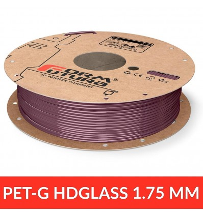 HDGlass 1.75 mm - FormFutura Pastel Purple Stained