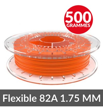 Filament souple Recreus Fila flex Orange 1.75 mm - 500g