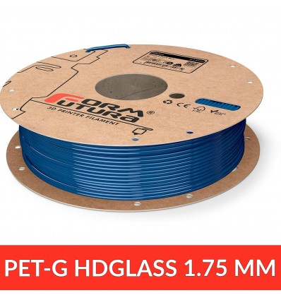 PET HDGlass - Blinded Dark Blue FormFutura 1.75 mm