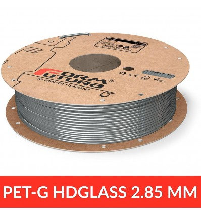 HDGlass 2.85 mm FormFutura - blinded silver