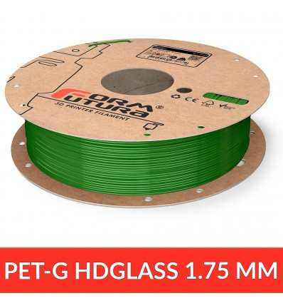 Fil HDGlass - See through green 1.75 mm FormFutura