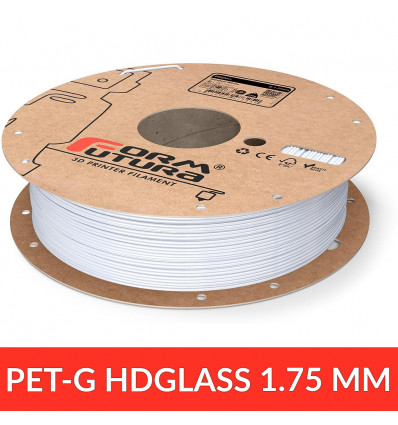 HDGlass - Filament PET 1.75 mm FormFutura - Blinded White