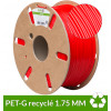 PET-G recyclé Rouge 1.75 mm dailyfil 1kg