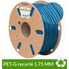 PET-G recyclé Bleu 1.75 mm - 1 kg dailyfil