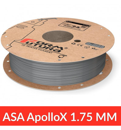 Bobine 1.75 mm ApolloX - Gris 750g