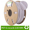 Bobine filament PET-G recyclé Blanc grès 2.85 mm 1kg - dailyfil