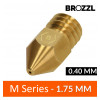 Buse laiton compatible Zortrax M-Series 1.75 mm 0.40 mm - Brozzl