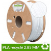 PLA recyclé dailyfil 2.85 mm blanc - 1kg
