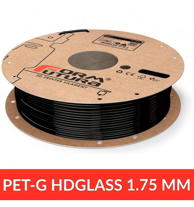 "FormFutura HDGlass - PET 1.75 mm ""See through black"""