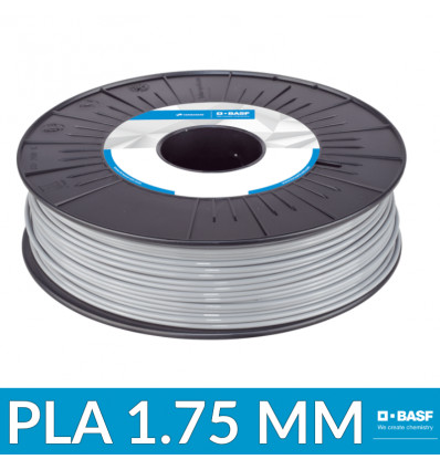 Consommable PLA Professionnel Innofil - 1.75 mm 750g Gris