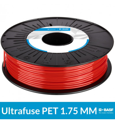 Consommable 1.75 mm Rouge - 750g BASF Ultrafuse PET
