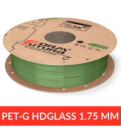Fil HDGlass - Pastel Green Stained 1.75 mm 750g