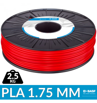 Filament BASG Ultrafuse PLA Rouge 2.5 kg - 1.75 mm