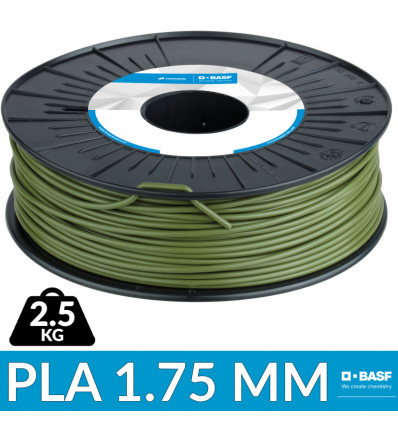 "Ultrafuse PLA 1.75 mm Vert "" Army Green"" - 1.75mm - BASF"