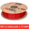 "HDGlass - PET FormFutura 1.75 mm ""Blinded red"""