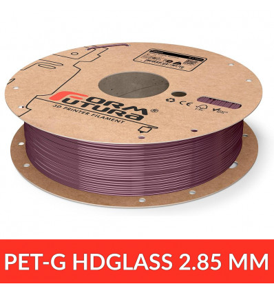 FormFutura 2.85 mm - PET HDGlass Pastel Purple Stained