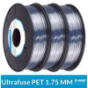 Pack filament BASF : lot de 3 bobines PET Naturel 750g Ultrafuse - 1.75 mm