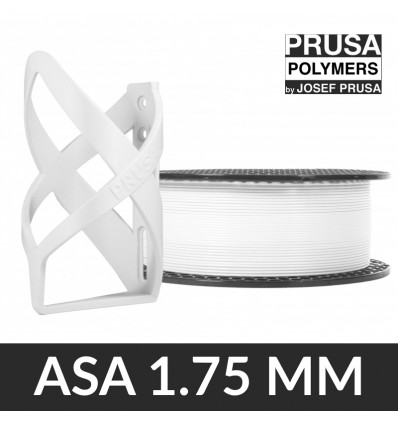 "Prusament ASA 1.75 mm Blanc ""Signal White"" - 850g"