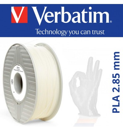 Filament Verbatim PLA 3 mm Naturel Transparent