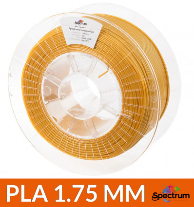 "Spectrum Filament Premium PLA 1.75mm ""PEARL GOLD"" 1kg"