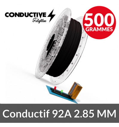 Filament conducteur 92A 2.85 mm Conductive Recreus 500g