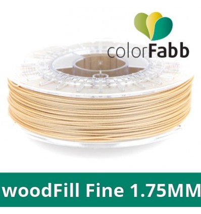 ColorFabb woodFill Fine - Filament Bois 1.75 mm