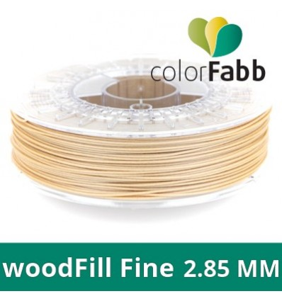 WoodFill Fine ColorFabb - Filament Bois 2.85 mm
